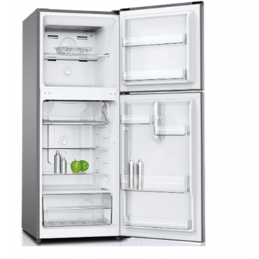 HEQS 222L Fridge Freezer - (Stainless Steel), Brand New, Free Delivery