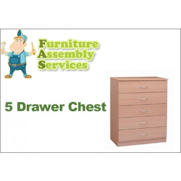 5 Drawers Chest Assembly Service