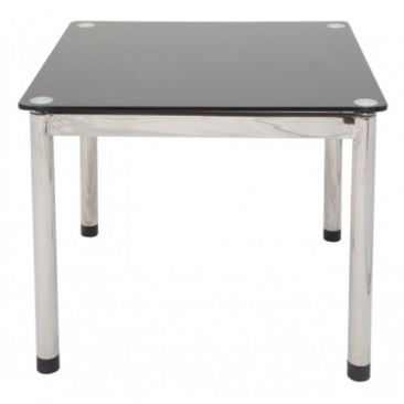 Rapid Coffee Table CGCT66 - Glass Top, Chrome Legs