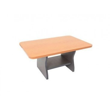 Rapid Coffee Table CT96 - Melamine, Beech / Cherry / Grey