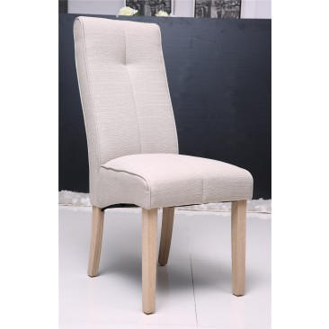 Tony Fabric Dining Chair with Foam Seat