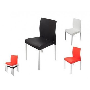 Rapid LEO Events or Hospitality Chair - Aluminium Legs / Suitable Outdoors
