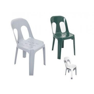 Rapid PIPEE Plastic Chair - Stackable