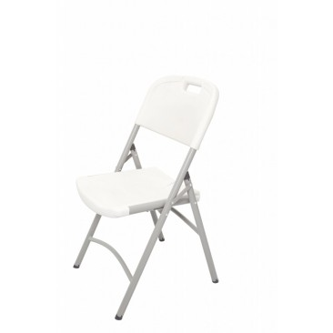 Rapid PT Folding Chair - Polypropylene / Grey Powder Coated Frame
