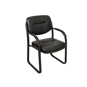 Rapid Visitor & Meeting Chair VSB600 - Sled Base with Padded Arm