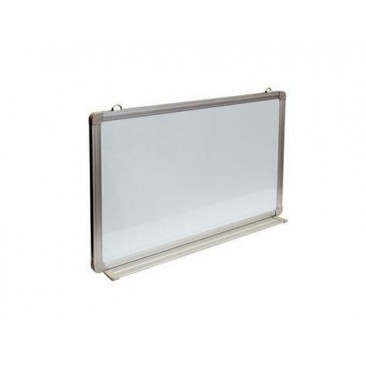 Rapid Wall Mounted White Board - Aluminium Frame