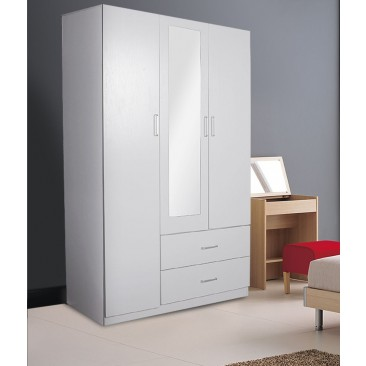 Redfern 3 Door 2 Drawer Wardrobe