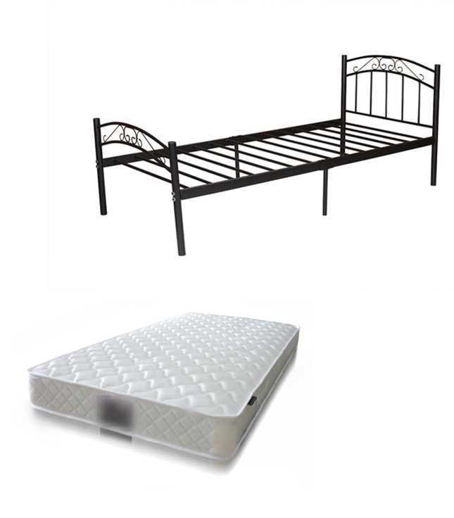 Bed Package Cleveland Bed Black White Mattress Luna 168 Australian
