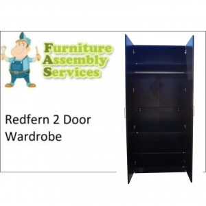 Redfern 2 Door Wardrobe Assembly Service