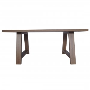 Tony 1800 Wooden Dining Table in Dark Oak