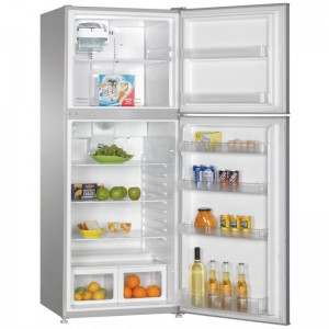 HEQS 400L Fridge Freezer (HEQS400) - (Silver), , Brand New with 1 Year Warranty