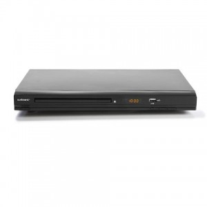 5.1 channel surround sound DVD Player, multimedia files via USB, Remote control