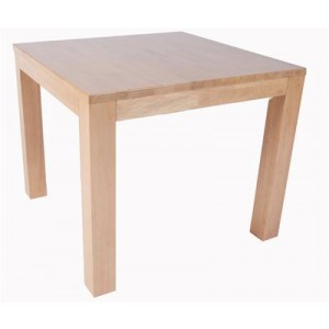 HEQSEZ DINING TABLE CHUNK 90 Natural