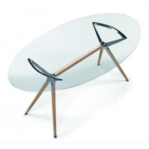 HEQSEZ TABLE METROPOLIS OVAL 180x100 Natural
