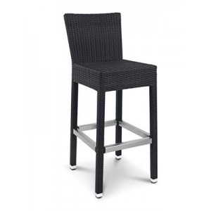 HEQSEZ STOOL SANTIAGO BACK Choc-Coffee