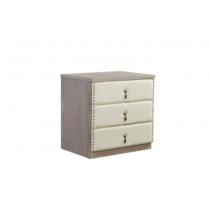 Elizabeth Night Stand with Fabric Drawers