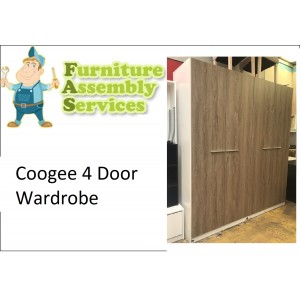 Coogee 4 Door Wardrobe Assembly Service