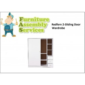Redfern 2 Sliding Door Wardrobe Assembly Service