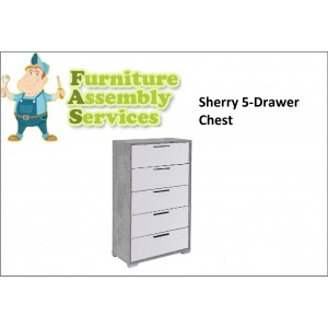 Sherry 5 Drawer Chest Assembly Service