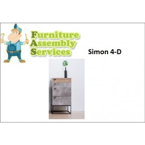 Simon 4 Drawers Chest Assembly Service