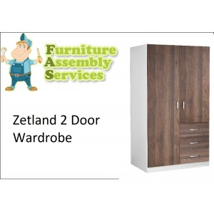 Zetland 2 Door Wardrobe Assembly Service