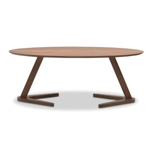 Bismark Solid Wood Coffee Table-Walnut