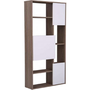 Tony Stylish Bookcase/Bookshelf/Storage Unit in Oak