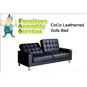 CoCo Leather Sofa Bed Assembly Service