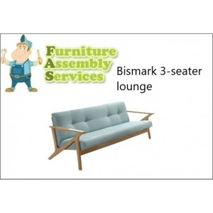 Bismark 3-seater Lounge Assembly Service