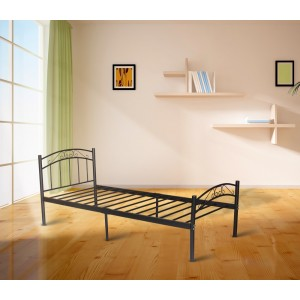 PriceWorth Cleveland Single/King Single/Double/Queen Bed in Black/White