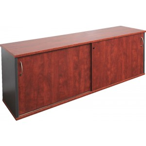 Rapid Manager Credenza  VCZ - Locking Sliding Door Buffet Unit,Add Hutch to VCZ1845 for Wall Unit