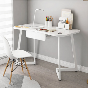 Monica Study Desk - WHITE