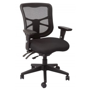 Rapid Mesh Chair DAMMESH - 3 Lever, Tension Control, Adjustable Arms