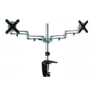 RAPID DUAL MONITOR ARM, DESK MOUNT / SCREW FIX