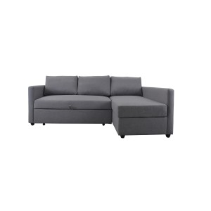 Modular 3 Seater Sofa Bed with storage Chaise