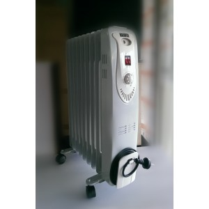 HEQS 2000W Oil Column Heater- 9 Fin