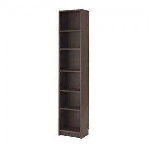 PriceWorth 6 Tier Bookcase/BookShelf/StorageUnit (Chocolate / White)