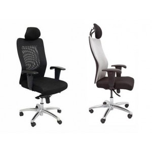 Rapid Mesh Chair AM300 - High Back, Adjust Arms & Chrome Base