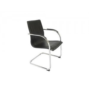 Rapid Visitor's Chair COMFO - Chrome Frame, Cantilever Base