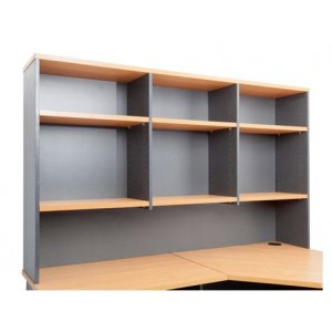 Rapid Worker Overhead Hutch - Adjustable Shelves