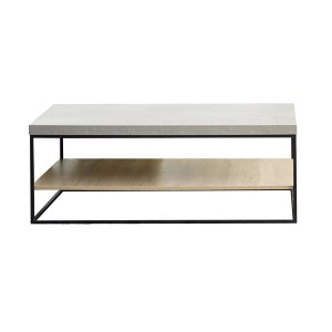 Contemporary Style 2 Tier Coffee Table