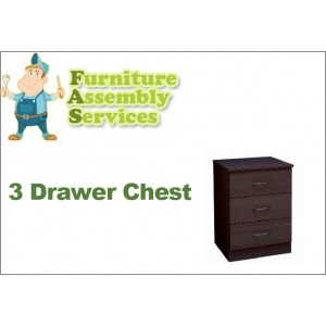 3 Drawers Chest Assembly Service