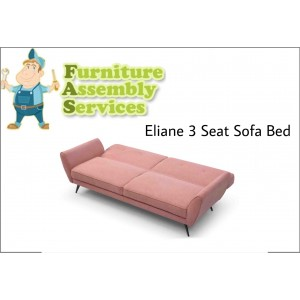 Eliane 3 Seat Sofa Bed Assembly Service