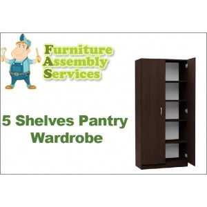 5 Shelves Pantry Assembly Service