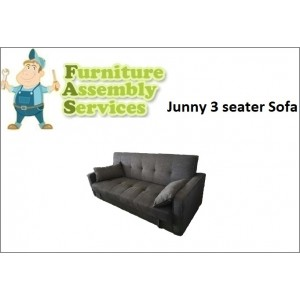 Junny 3-seater Sofa Bed Assembly Service