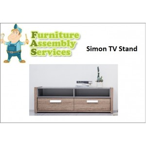 Simon TV Stand Assembly Service