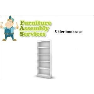 5-tiers Bookcase Assembly Service